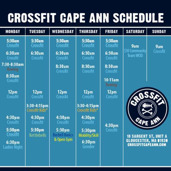2019.02 CFCA schedule